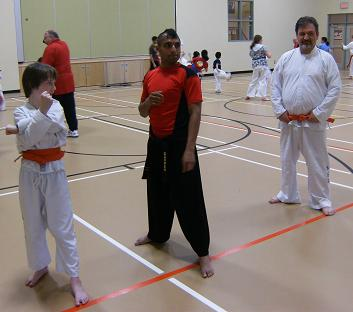 One on one training with a 1st degree black belt!